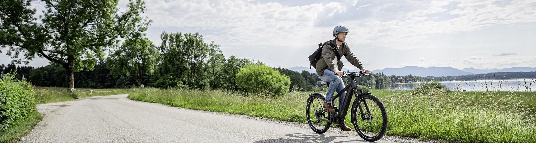 Elektrofahrräder mit Rückenwind